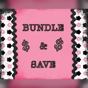 Bundle for a discount in my closet.