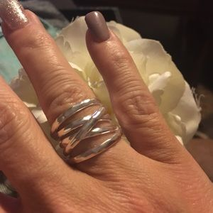Silpada Wrapped Up Ring in Sterling Silver