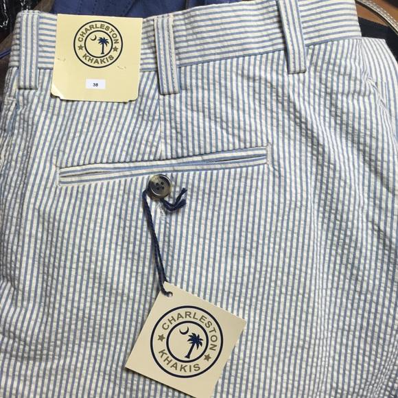 Charleston Khakis Pants Mens Seersucker Pant Poshmark