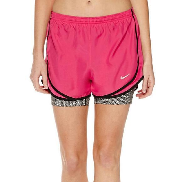 65% off Nike Pants - Clearance Nwt Nike running 2in 1 ...