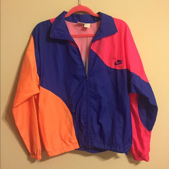 84% off Nike Jackets & Blazers - LAST CHANCE Vintage retro Nike ...