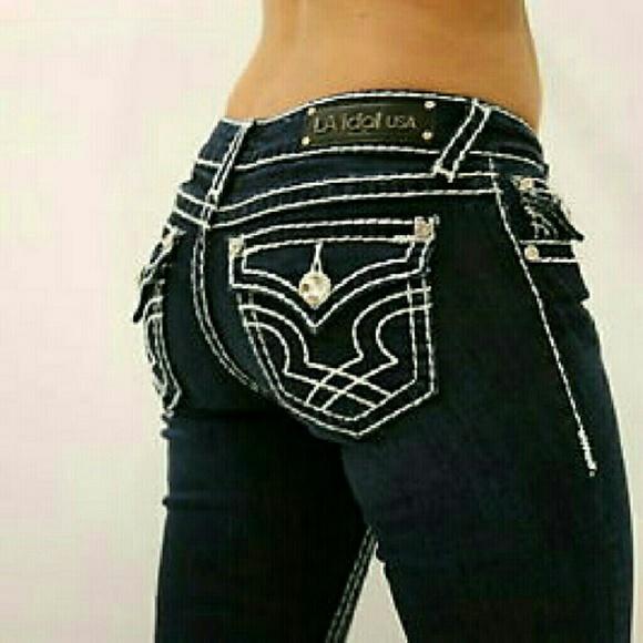 What store sells la idol jeans in Minnesota?