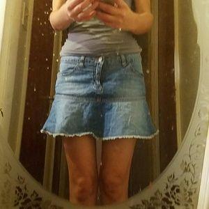 40weft Dresses & Skirts - women's Jean skirt
