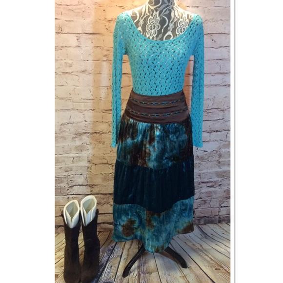 Speechless Dresses & Skirts - 🆑CLEARANCE🆑SPEECHLESS BOHO MAXI SKIRT