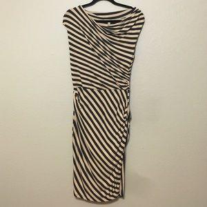 Anthropologie Striped Bodycon Dress