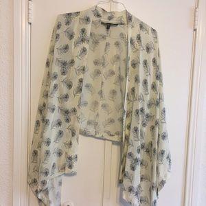 Winter Kate Jackets & Blazers - Winter Kate Feather Kimono - S