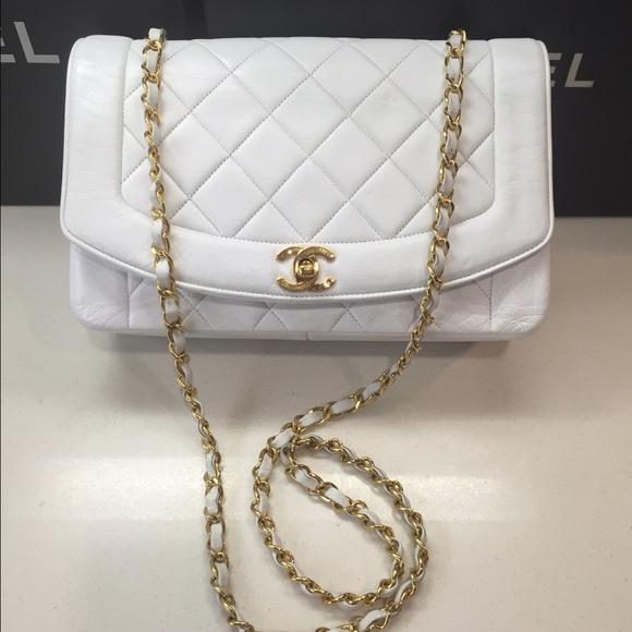 ab66d3659189b1 CHANEL Bags | Sold Auth Diana Flap Crossbody | Poshmark