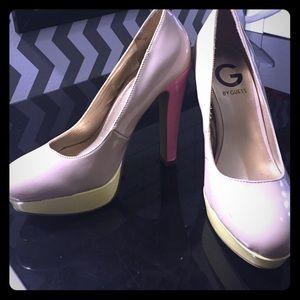 G by guess platform heels
