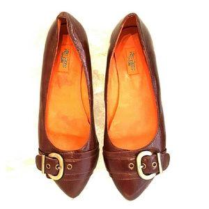 Miz Mooz Shoes - Miz Mooz brown Energies ballet flat 8.5