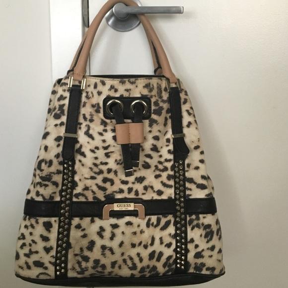 8758a33b2949 Guess Cheetah Print Handbag. M_57ea803b4127d0fe81002ea4