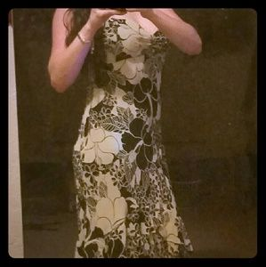 *BCBG MAXAZRIA  Floral Dress!*