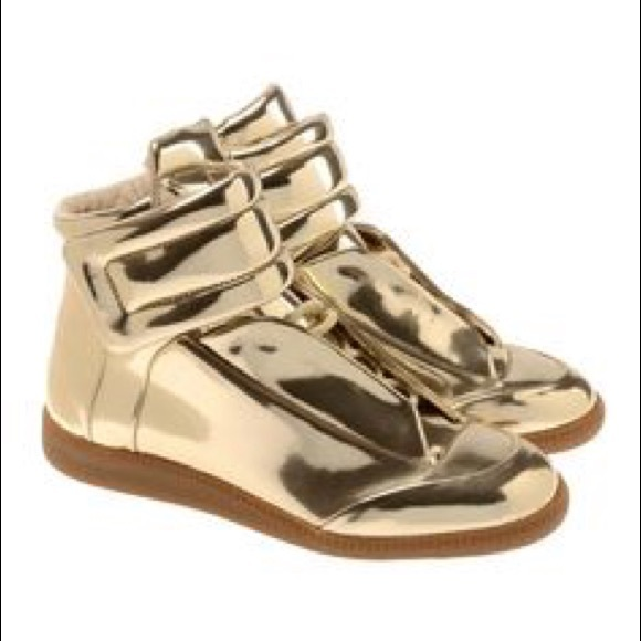 Maison Martin Margiela Gold Sneaker 36