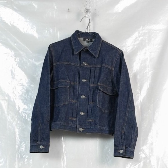 575d5cd4099 APC Jackets   Blazers - A.P.C selvedge denim jacket