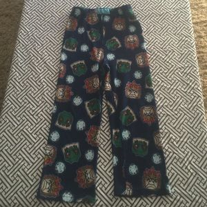 boys sz 8 Lego Chima fleece pj pants