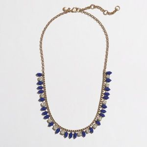 J.Crew Factory Thorn and Crystal necklace
