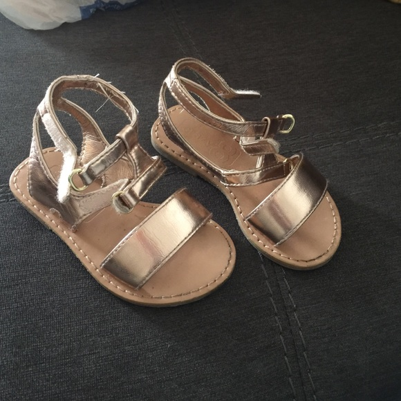 c2a2ee6eb399 Crazy 8 Other - Toddler rose gold sandals