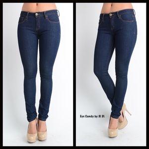 SALEDark Wash Skinny Jeans