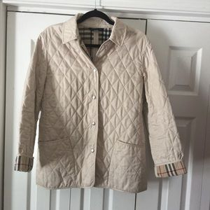 Classic Burberry Quilted Barn Jacket