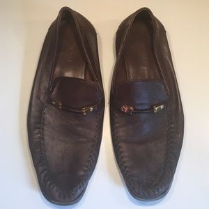 Bruno Magli Other - Bruno Magli men's brown leather loafers