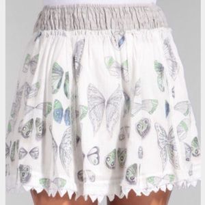 Free People Butterfly Skirt Sz Sm