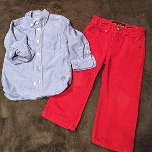 Outfit for boy. Size 2T