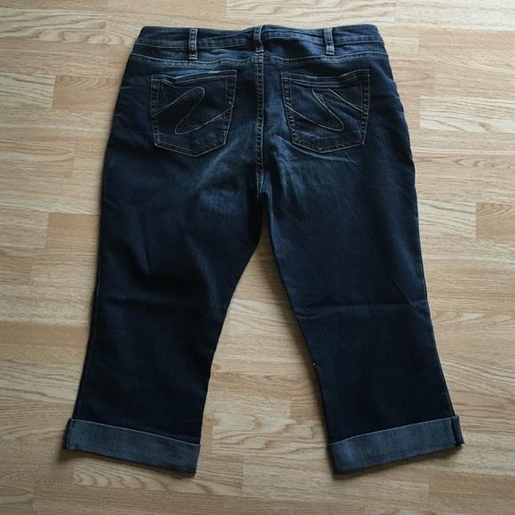 Silver Jeans - Plus Size Silver Brand Tuesday Capri Jeans Size 20 ...