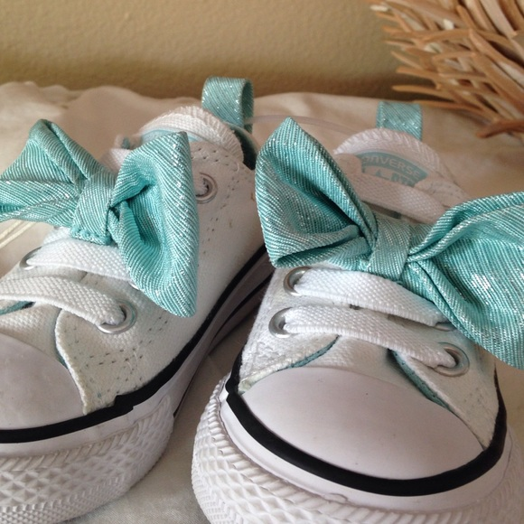 Sale Toddler Rare Tiffany Blue Bow