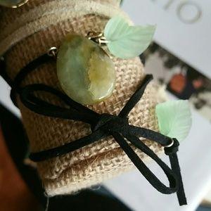 Jewelry - Black wrap bracelet