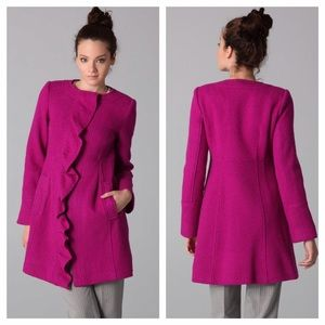 Nanette Lepore Ruffled Coat