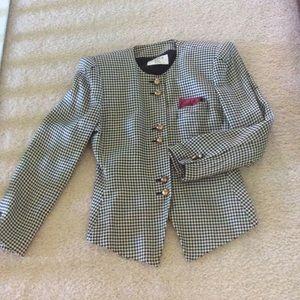 kasper A.S.L Petite Jackets & Blazers - Black&white jacket size 10⬇️⬇️⬇️⬇️ final price