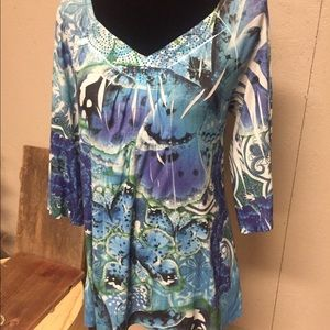 Cato Tops - Beautiful Butterfly Top