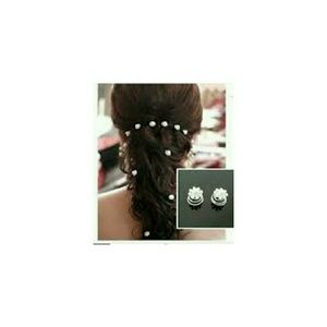Life by Design  Accessories - Crystal Swirl Hair Twists 12 Pieces