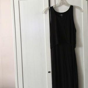 Mossimo black maxi dress