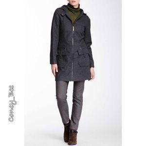 Vertigo Paris Jackets & Blazers - 🌟Wool Blend Hooded Coat🌟