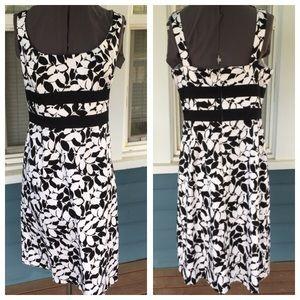 Donna Ricco Dresses & Skirts - DONNA RICCO NY B&W Dress
