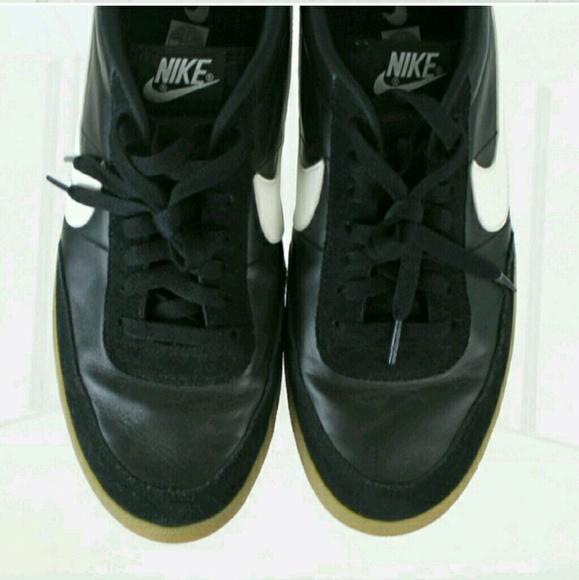 Nike Shoes - Ashton Kutcher's Black Leather Nike's