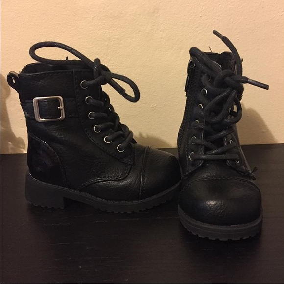 44% off Shoes - All black combat boots from Jennifer's closet on ...