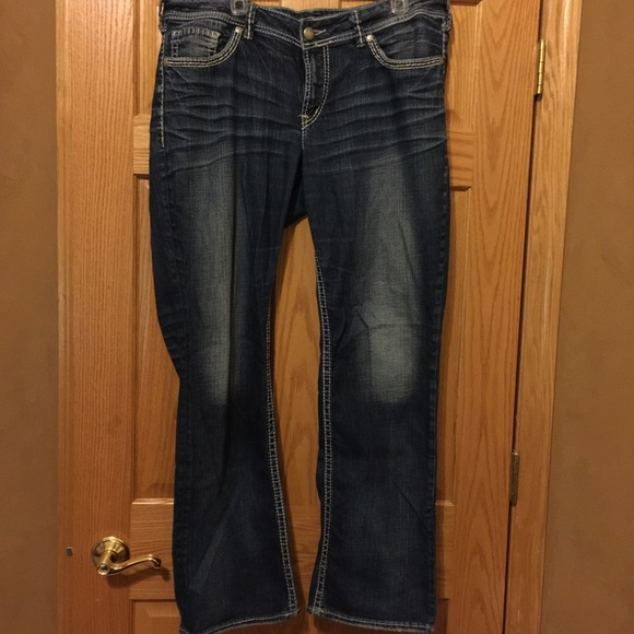 78% off Silver Jeans Denim - Silver jeans Suki 17