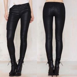 Cult of Individuality Pants - Cult of individuality zen mid rise Moto pants