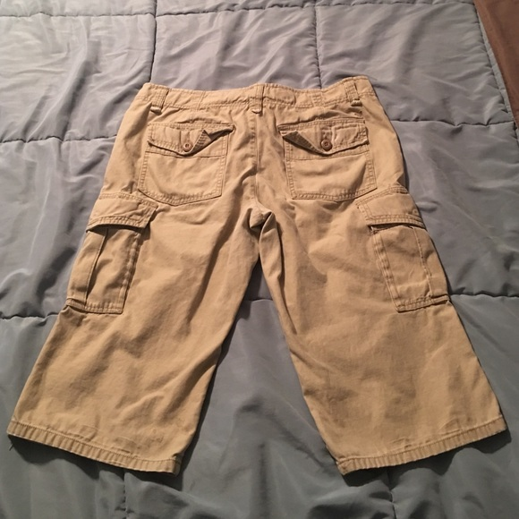 Cool AMERICAN EAGLE Women39s Cargo Pants With Zippered Adjustable Flare Legs