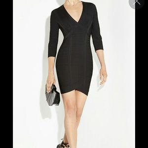 Herve Leger Dresses & Skirts - Herve Leger Black Nathalia Dress NWT