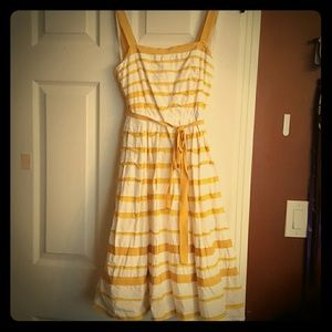 Moulinette Soeurs sunshades yellow ribbon dress