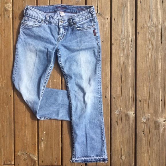 "68% off Silver Jeans Denim - SILVER ""Santorini"" Released Hem ..."
