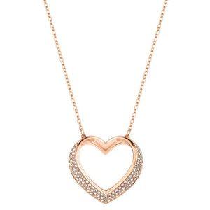✨Swarovski✨ Rose Gold Heart Necklace