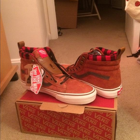c6ae758b404f5e Vans Sk8-Hi MTE Glazed Ginger Sneakers