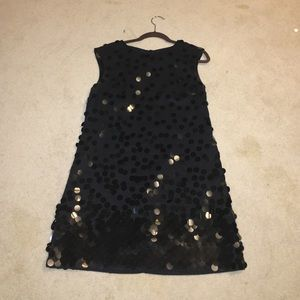 Sequined French Connection shift dress