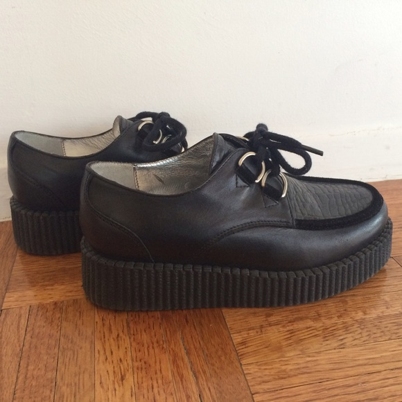 Cotélac Creepers scarpe   Cotelac Nero Creepers Cotélac   Poshmark 1186b9