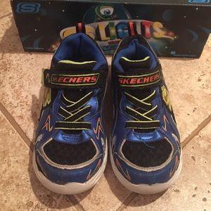Skechers Sko For Gutter Størrelse 13 Ztcc871HH