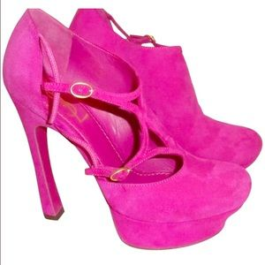 YSL Pink Shoes!