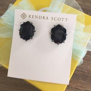 Kendra Scott Black Banded Morgan's